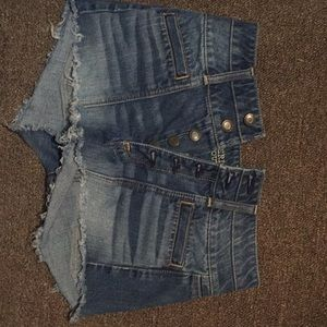 American eagle outfitters jean shorts.